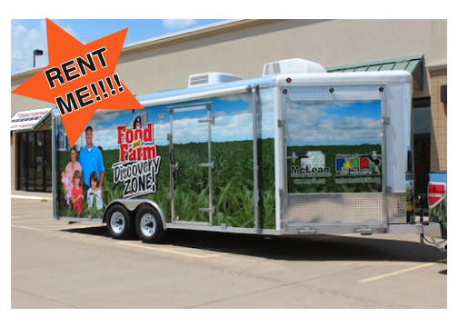 Discovery Zone Trailer available for rent